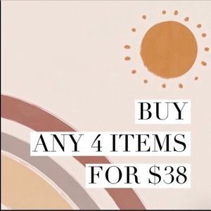 [ 4 for $38 ]